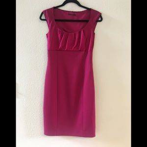 ELIE TAHARI CAP SLEEVE SHEATH DRESS, SIZE 4